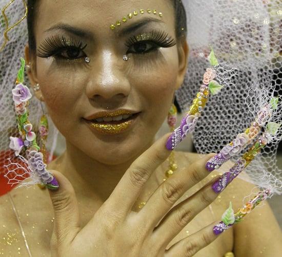 Bridal Veil Nails