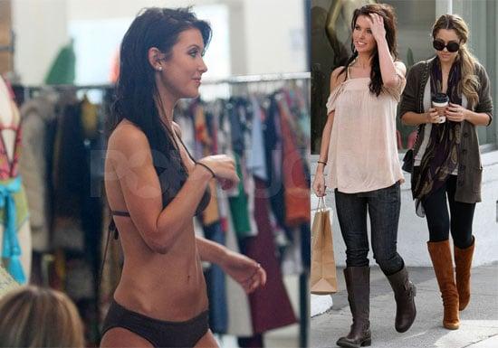 Photos of Lauren Conrad and Audrina Patridge Bikini Shopping While Filming The Hills