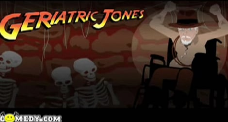 Indiana Jones and the Kingdom of the Crystal Skull Parody