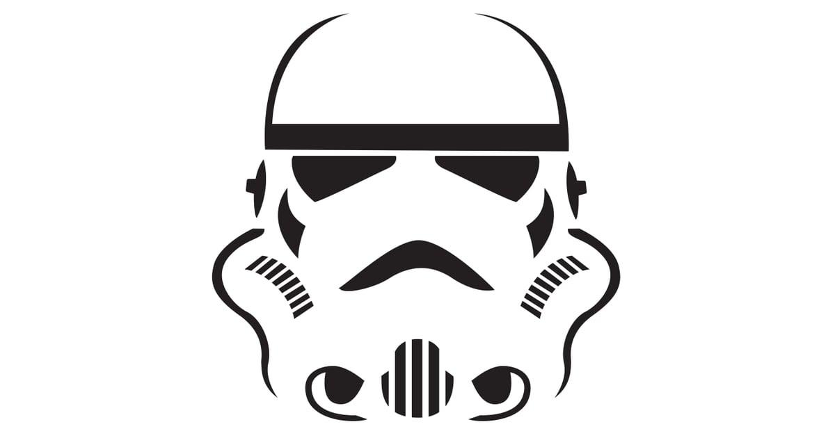 photograph about Stormtrooper Mask Printable identify Stormtrooper These types of Star Wars Pumpkin Templates Are All Your self
