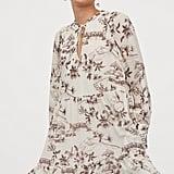 H&M Wide-cut Chiffon Dress