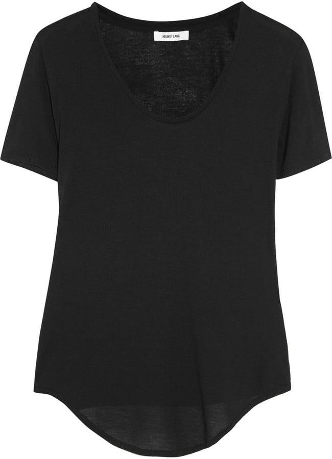 Helmut Lang Micro Modal-Blend Jersey T-Shirt ($90)