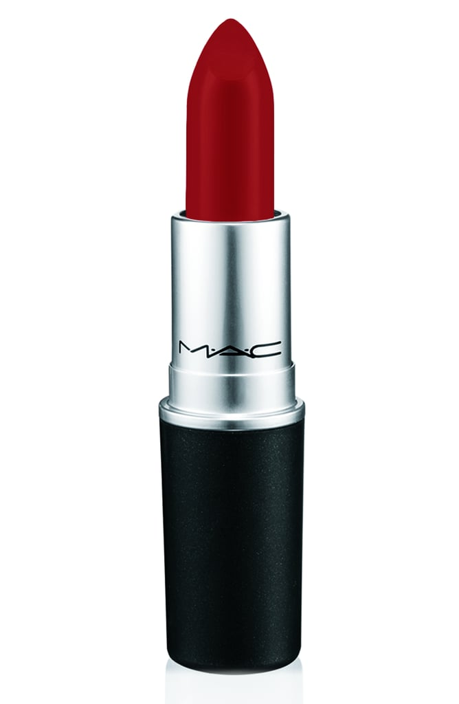 Mia Moretti For MAC Lipstick in Cherry Red