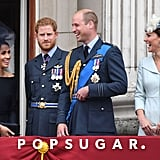 Prince Harry Looking Confused at RAF Celebration July 2018