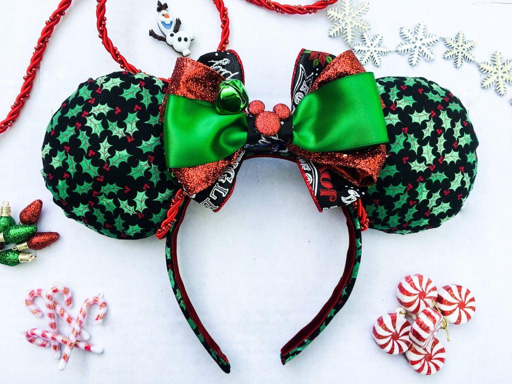 jolly holly holiday mouse ears - Disney Christmas Ears