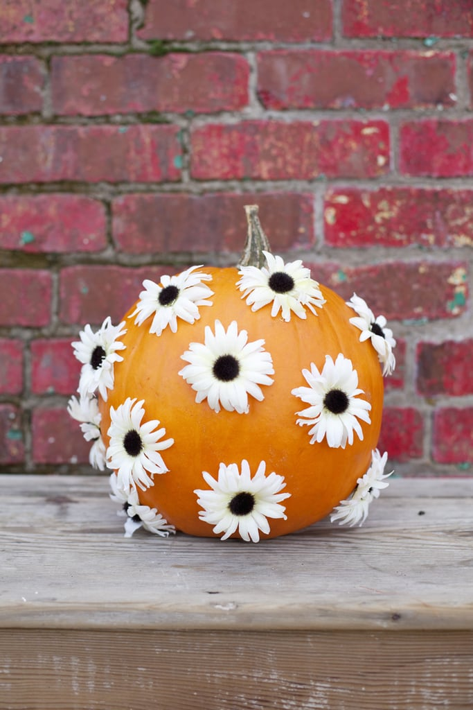 Flower Polka Dots Pumpkin