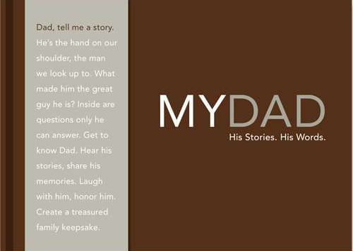 Feeling sentimental? Get a glimpse of your dad's life by giving him the My Dad: His Story, His Words ($10) journal to record his favorite memories.