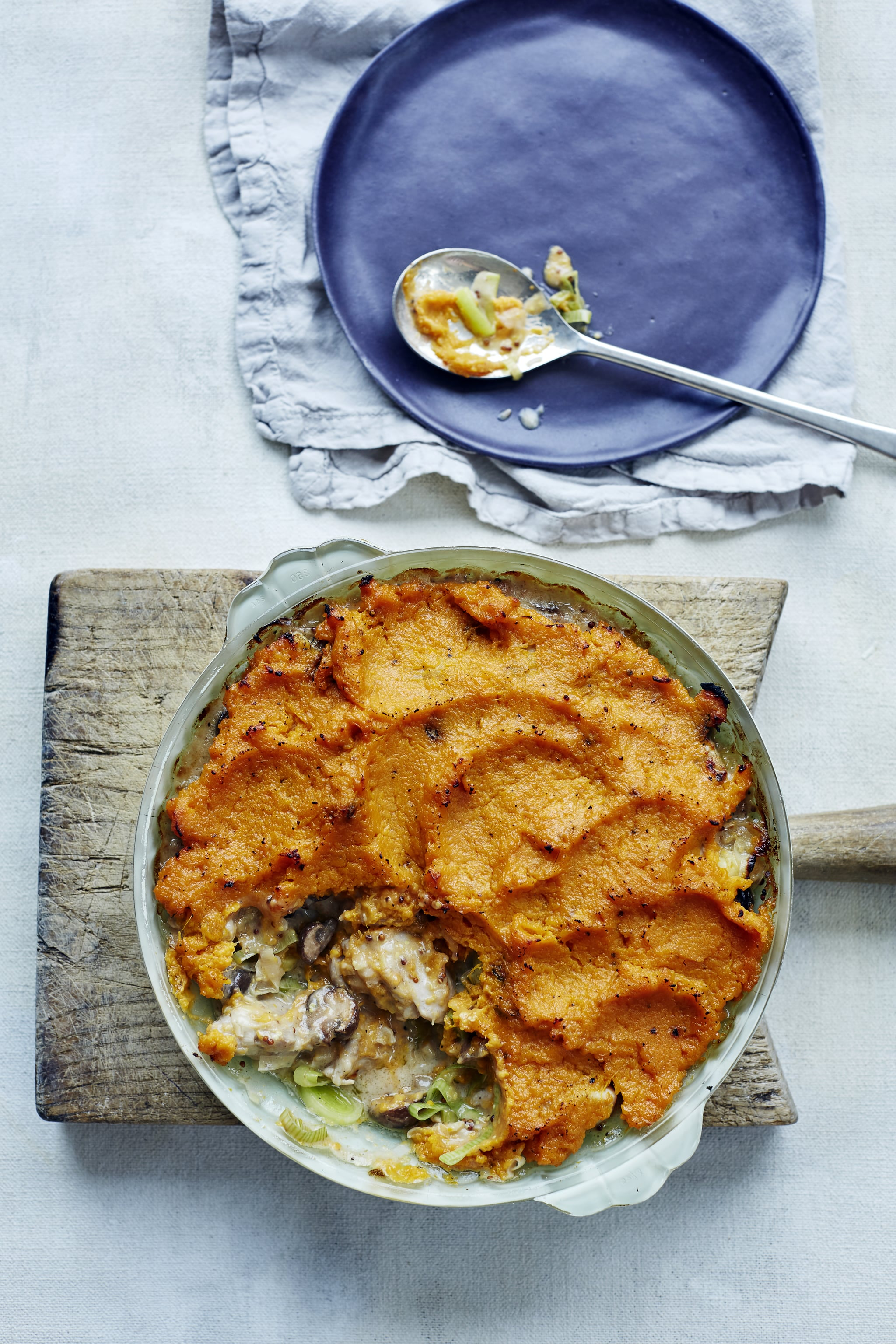 This Chicken Pie Puts a Light Twist on an Old Favourite
