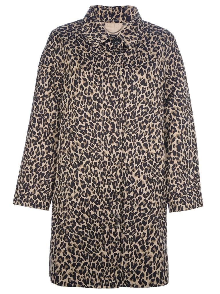 Max Mara Weekend Lega Leopard Coat ($296, originally $592)
