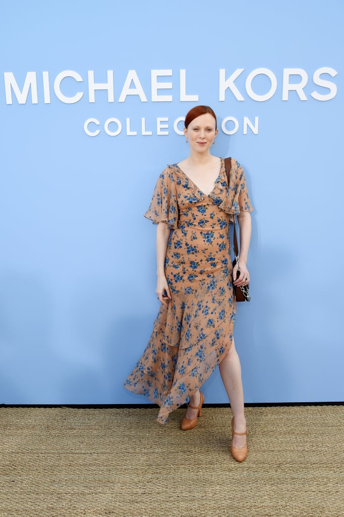 Karen Elson at the Michael Kors Collection New York Fashion Week Show