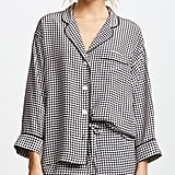 Sleepy Jones Gingham Pajamas