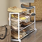 Whitmor 4-Tier Floor Shoe Rack