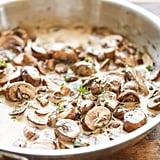 Creamy Sautéed Mushrooms