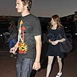 Emma Stone and Andrew Garfield Have Dinner For Two at Nobu