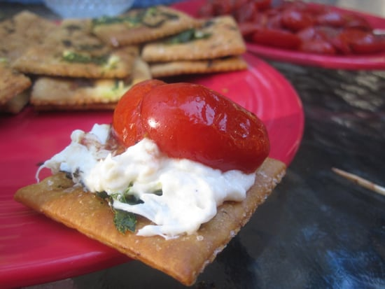 Crab Dip With Garlic Saltines and Roasted Cherry Tomatoes Recipe 2010-09-03 19:04:48