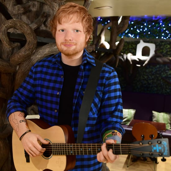 Ed Sheeran Madame Tussauds Wax Figure