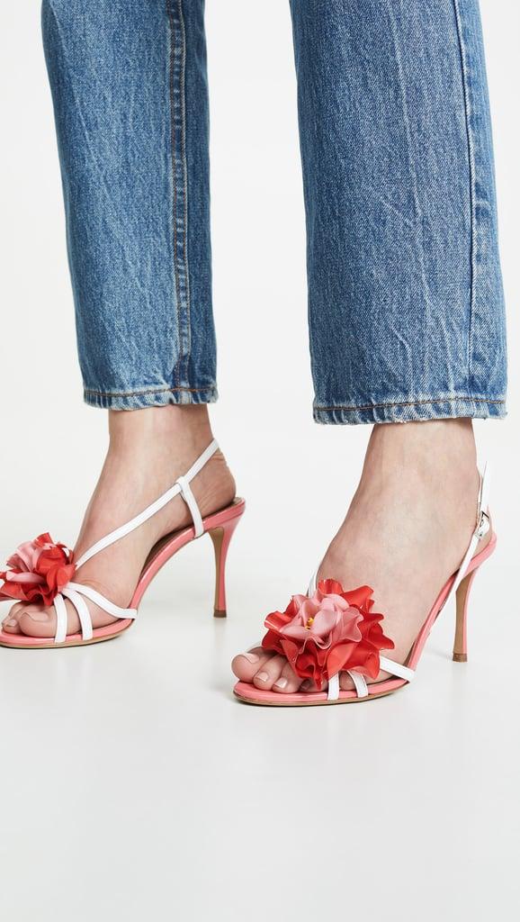 Tabitha Simmons Peony Slingback Sandals