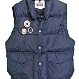 Les Nouvelles Vintage Puffer With Brooches ($175, originally $250)