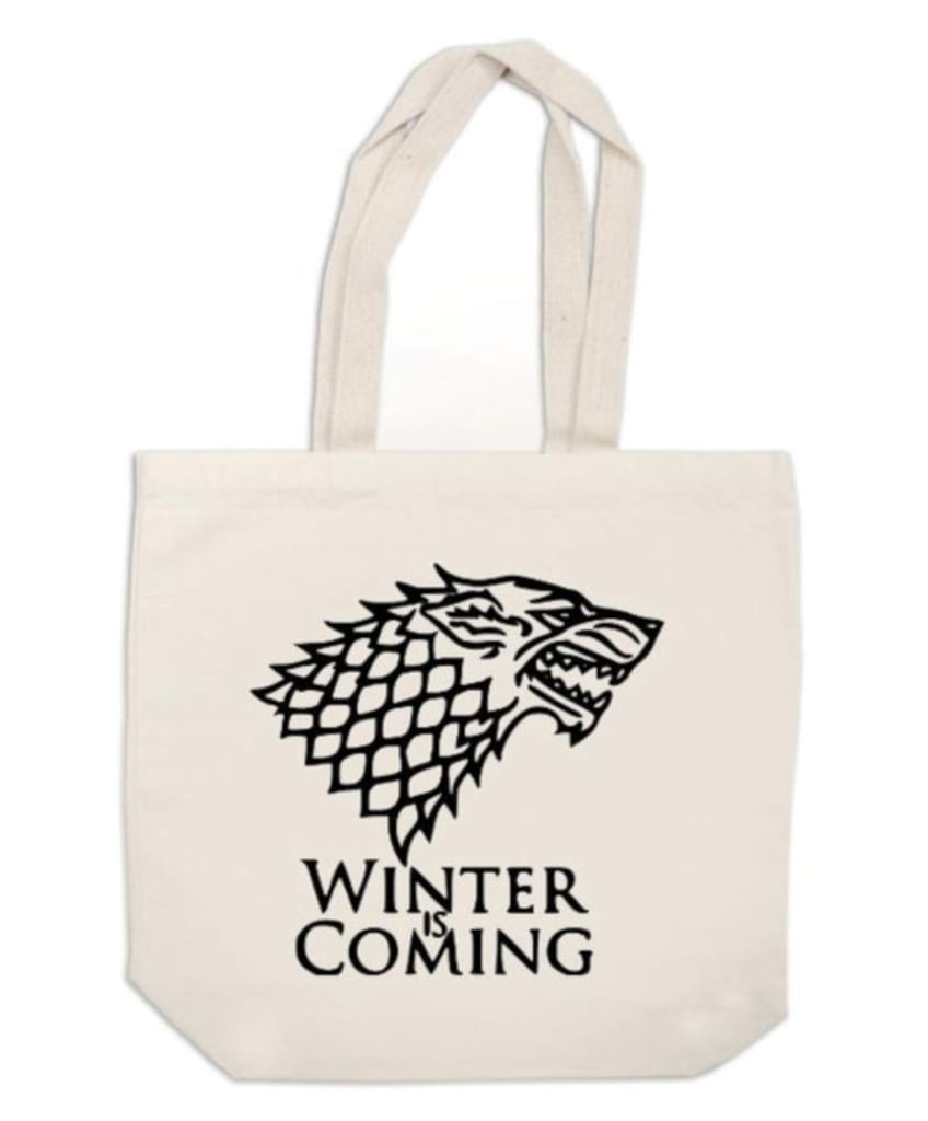Winter Is Coming Canvas Tote Bag