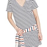 Madewell Yorktown Strip Relaxed T-Shirt Dress