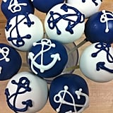 Nautical Navy Cake Pops