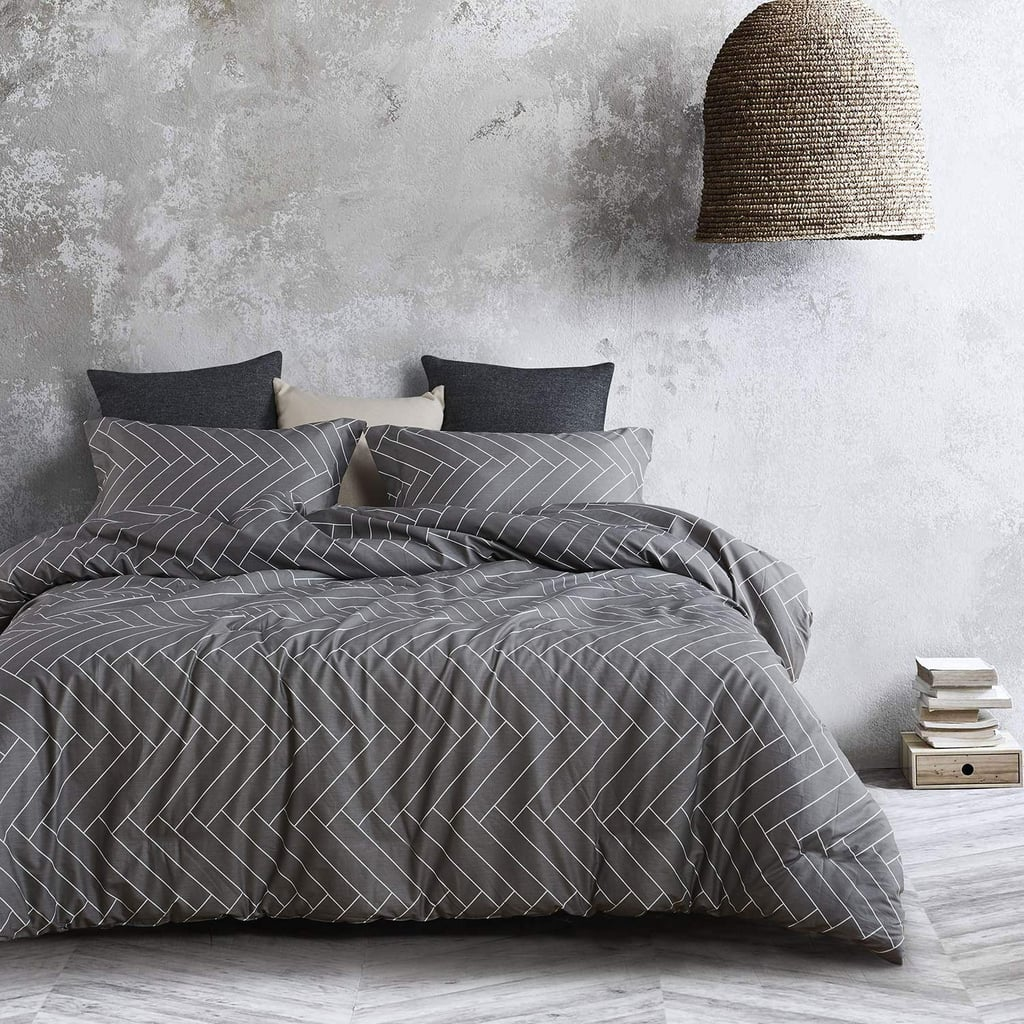 Wake in Cloud Gray Comforter Set