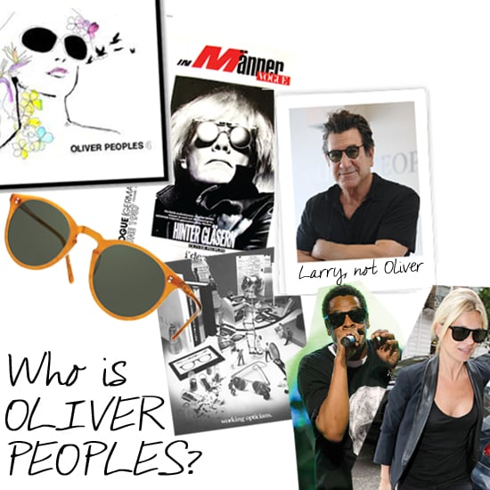 Interview With Oliver Peoples and Larry Leight: Five Fun Things You Didn't Know About This Awesome Sunglasses Brand