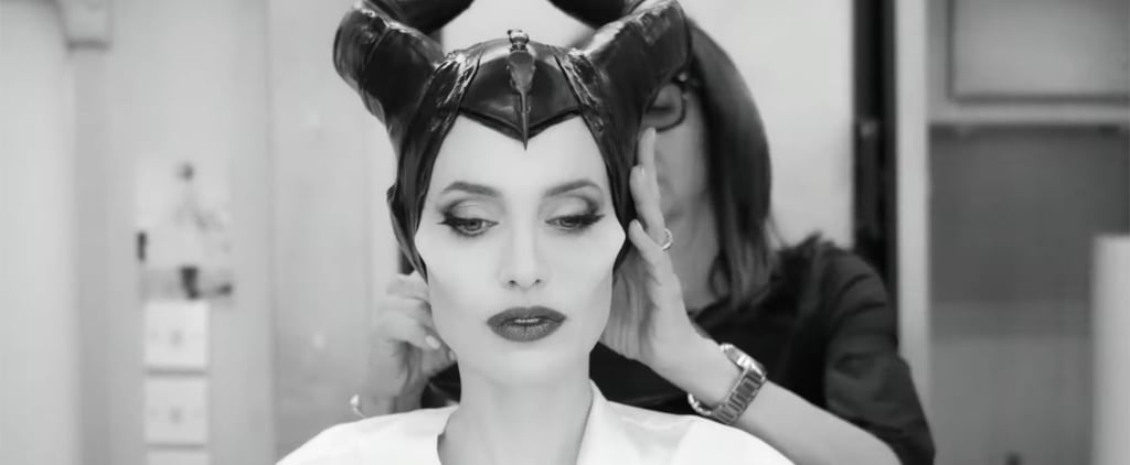 Angelina Jolie's Maleficent Makeup Transformation Video