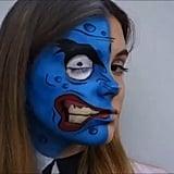 Half Pop Art Zombie