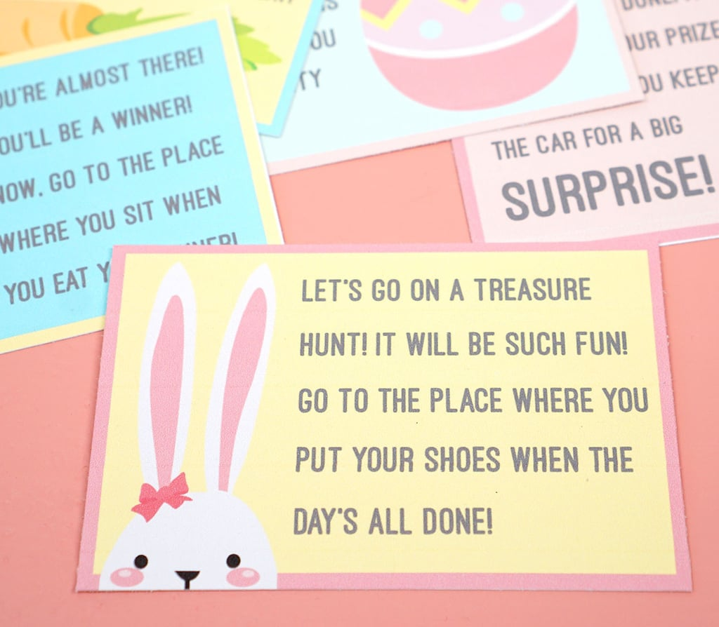 Free Printable Easter Scavenger Hunts