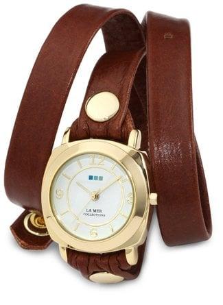 La Mer Wrap-Around Watch