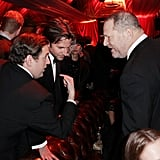 Jonah Hill, Bradley Cooper, and Harvey Weinstein