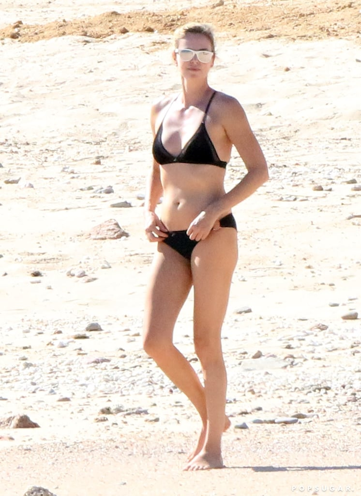 Charlize Theron in a Bikini in Cabo Nov. 2017