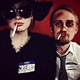 Marla and Tyler From Fight Club