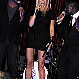 Gwyneth Paltrow took the mic in London.