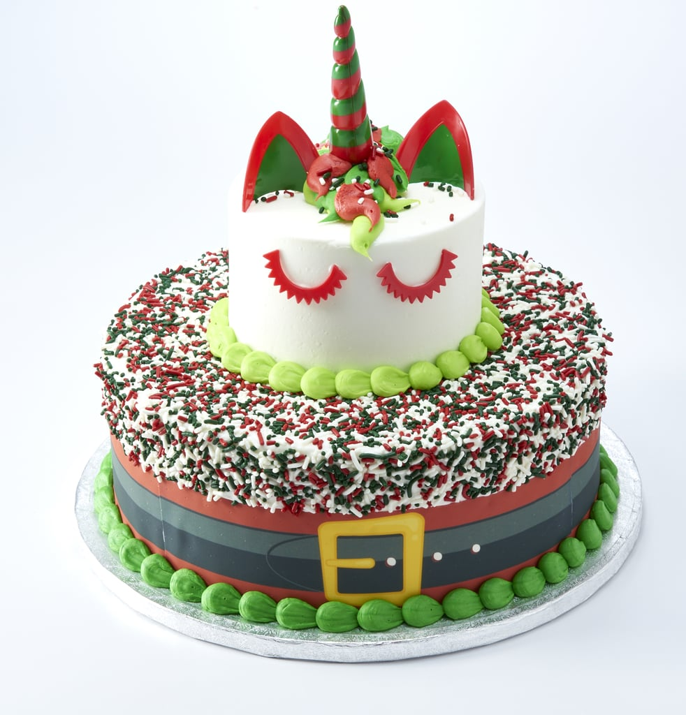 Sams Club Santa And Winter Unicorn Cakes December 2018