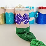 Mermaid Mason Jar Centerpiece