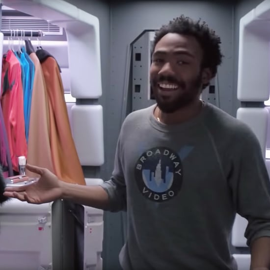 Donald Glover Tour of Millennium Falcon Video