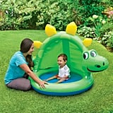 Summer Waves Round Inflatable Dinosaur Baby Pool
