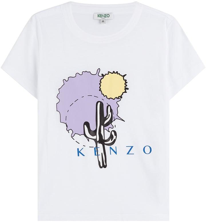 Kenzo Printed T-Shirt ($125)