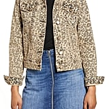 STS Blue Colbey Leopard Print Denim Jacket