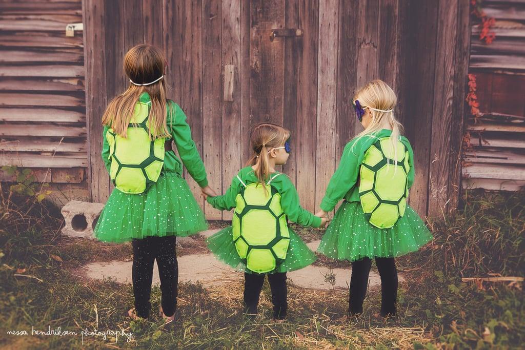 Ninja Turtle Inspired Shells