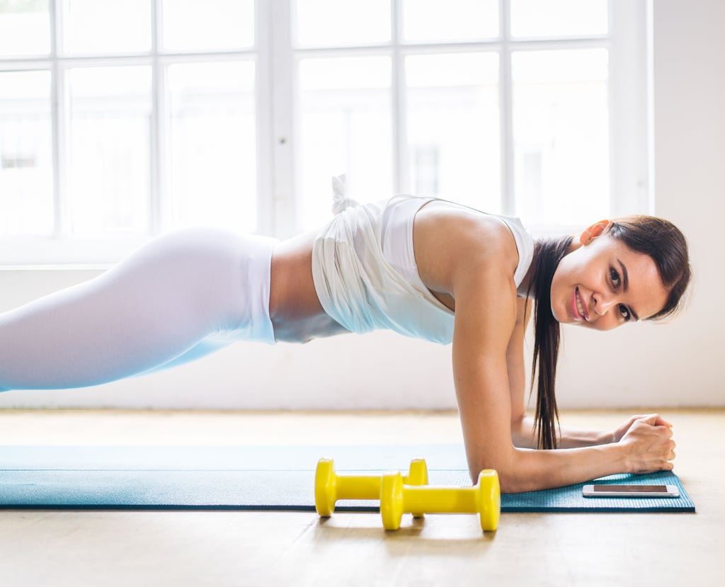 Home Workout   Bodyweight and Dumbbell Exercises