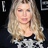 Fergie smiled at the Elle and Sundance Channel party in honor of Joe Zee.