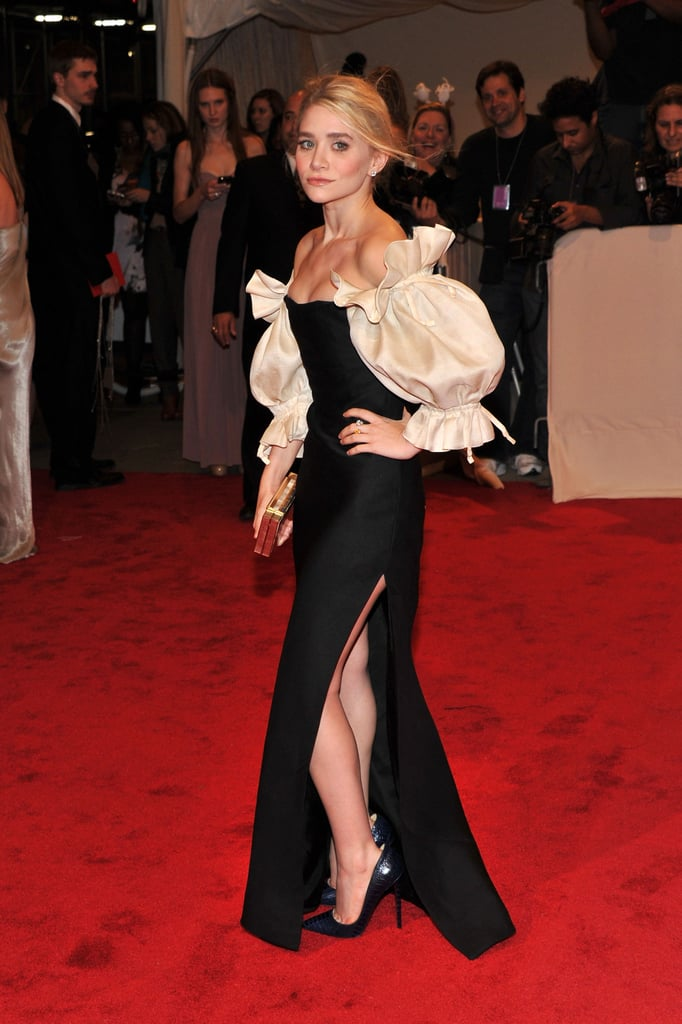 Ashley Olsen in vintage Christian Dior couture