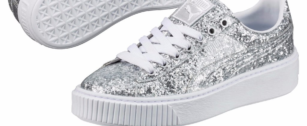 These Glittery Sneakers Will Make You Want to Ditch Your Holiday Heels