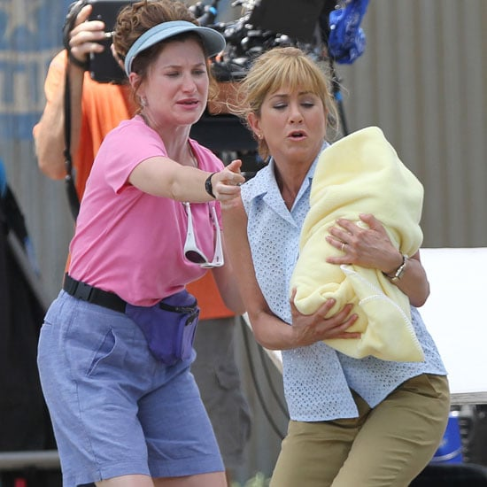 Jennifer Aniston Filming We're the Millers