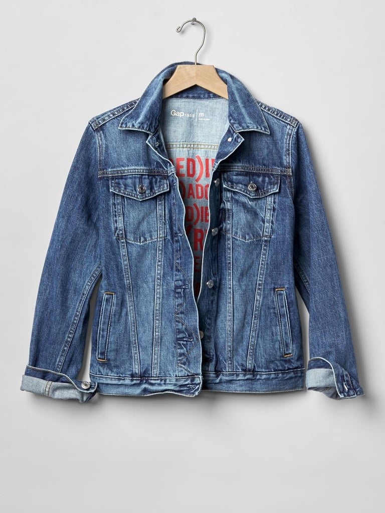 Gap x (Red)™ Denim Jacket ($78)