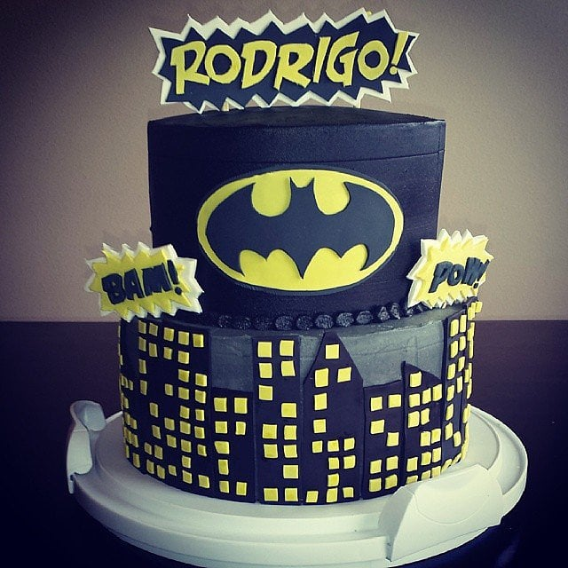 Batmans Gotham City Unique Birthday Cakes For Baby And Toddler