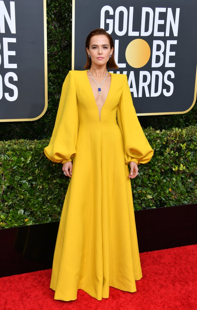 Golden Globes 2020 Puff Sleeves Fashion Trend